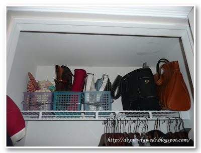 Closet Organization: Organize Purses U0026 Handbags