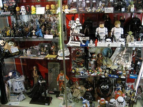 Star Wars Ships Toys. a year without a Star Wars