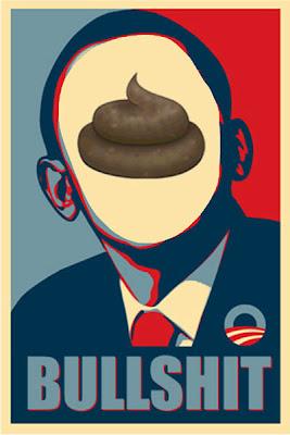 Famous Obama Poster Bullshit