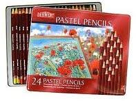 Lata de Lapices Derwent Pastel x 24 colores