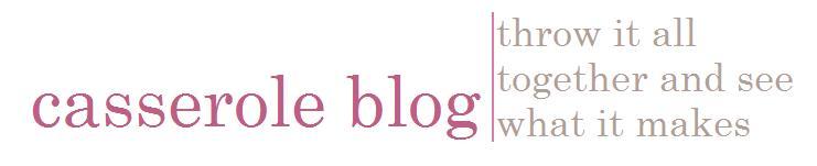 casserole blog