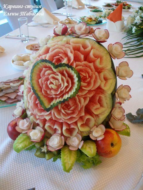 Овощей и фруктов оформление фуршетов