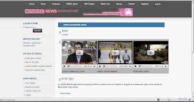 Joomla tutorial, Joomla, Winol, Winchester, News