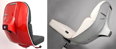 DESIGN FETISH Vespa Scooter Office Chair – Chair Fetish
