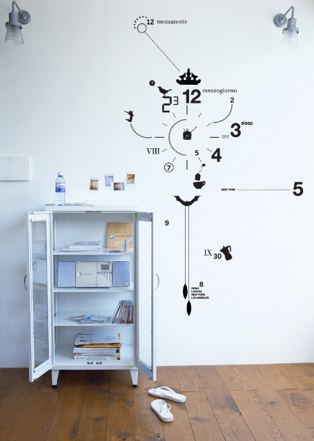 Of All Design: Vinyl Wall Clocks