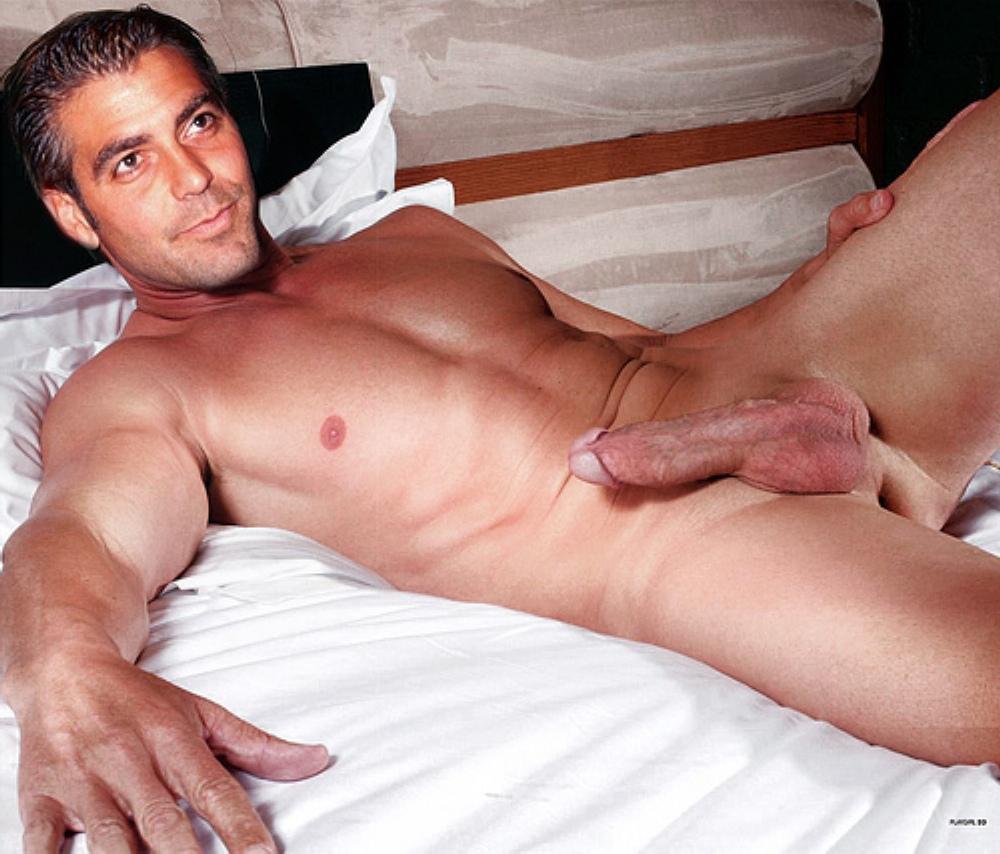 george naked free clooney