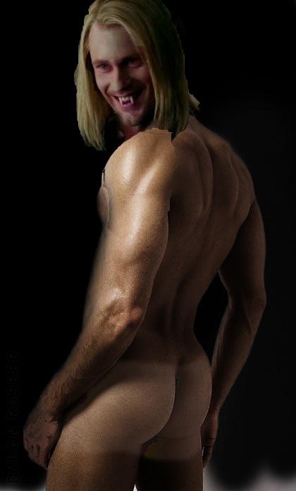 naked women spread cheeks