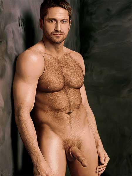Gerard Butler Nude Fakes