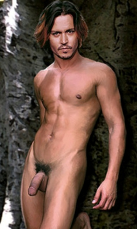 Depp johnny naked pic