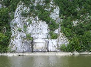 Danube River - Tabula Traiana - Romanian / Serbian Border