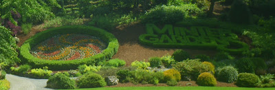 Minter Gardens - for 30 years one of the most beautiful crafted gardens from British Columbia