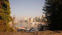 Vancouver's Coal Harbour Marina near Stanley Park main entrance