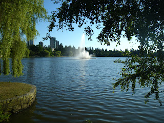 Lost Lagoon from Stanley Park, Vancouver