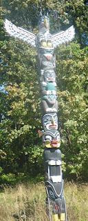 Kakaso'Las Pole, Stanley Park, Vancouver