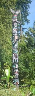 Ga'akstalas Pole, Stanley Park, Vancouver