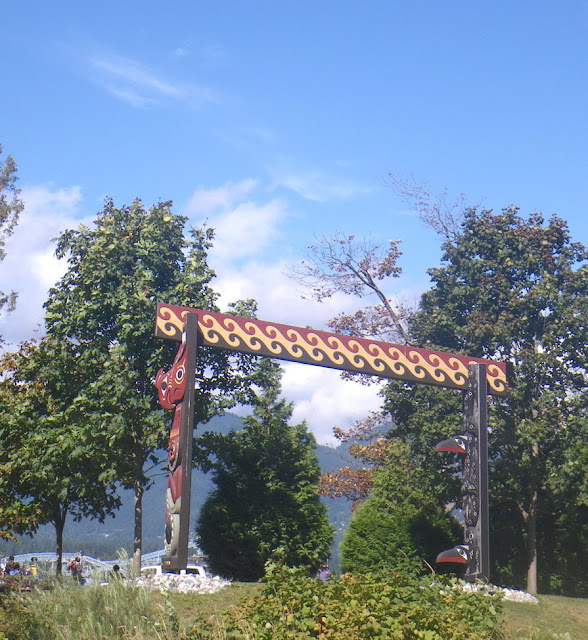 The Coast Salish Gateway of Brockton Point, Stanley Park, Vancouver
