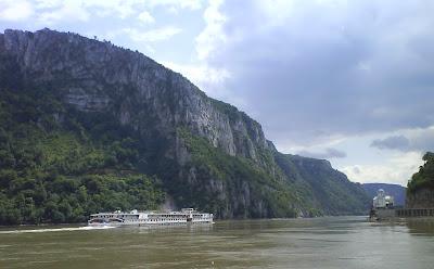 Danube Gorge near Mraconia Monastery,  Romania