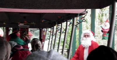Santa at Greater Vancouver Zoo