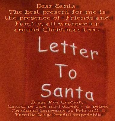 Letter to Santa 2010