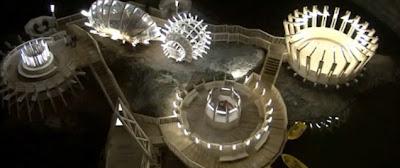 Turda Salt Mine - Top View
