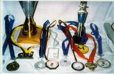 Algumas medalhas