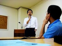 陳文喬醫師至台中市立文化中心演講
