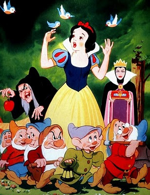 Princess Snow White Cartoon Disney