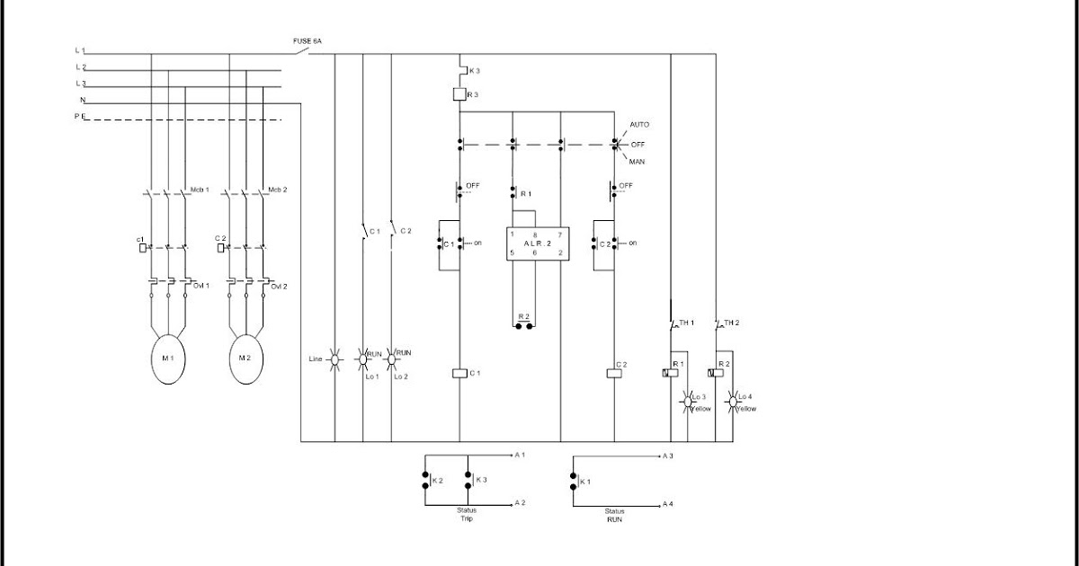 Wiring Pompa Booster