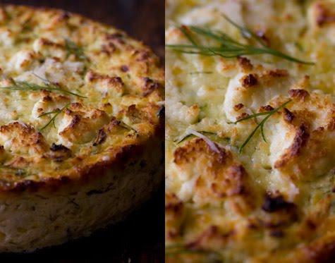 ... Not Martha: One gluten free zucchini ricotta cheesecake please