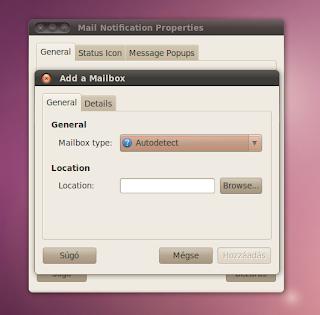 Mail Ubuntu értesítő