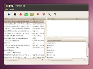 web radio ubuntu