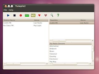 ubuntu web radio