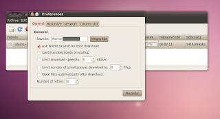 Ubuntu Linux download manager