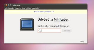 Minitube Ubuntu Linux