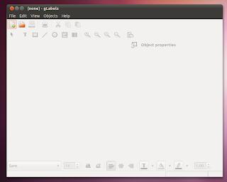 Glabels Ubuntu Linux10 10