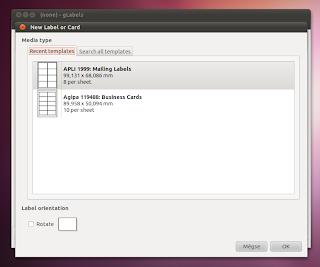 Ubuntu G-labels