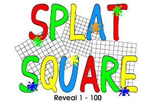 Madame Belle Feuille: splat square for 100th day