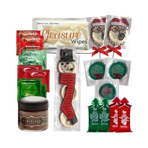 check out the condom country christmas sampler - Christmas Condoms