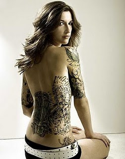 Hot tattoo design