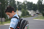 Jacob's First Day of Kindergarten