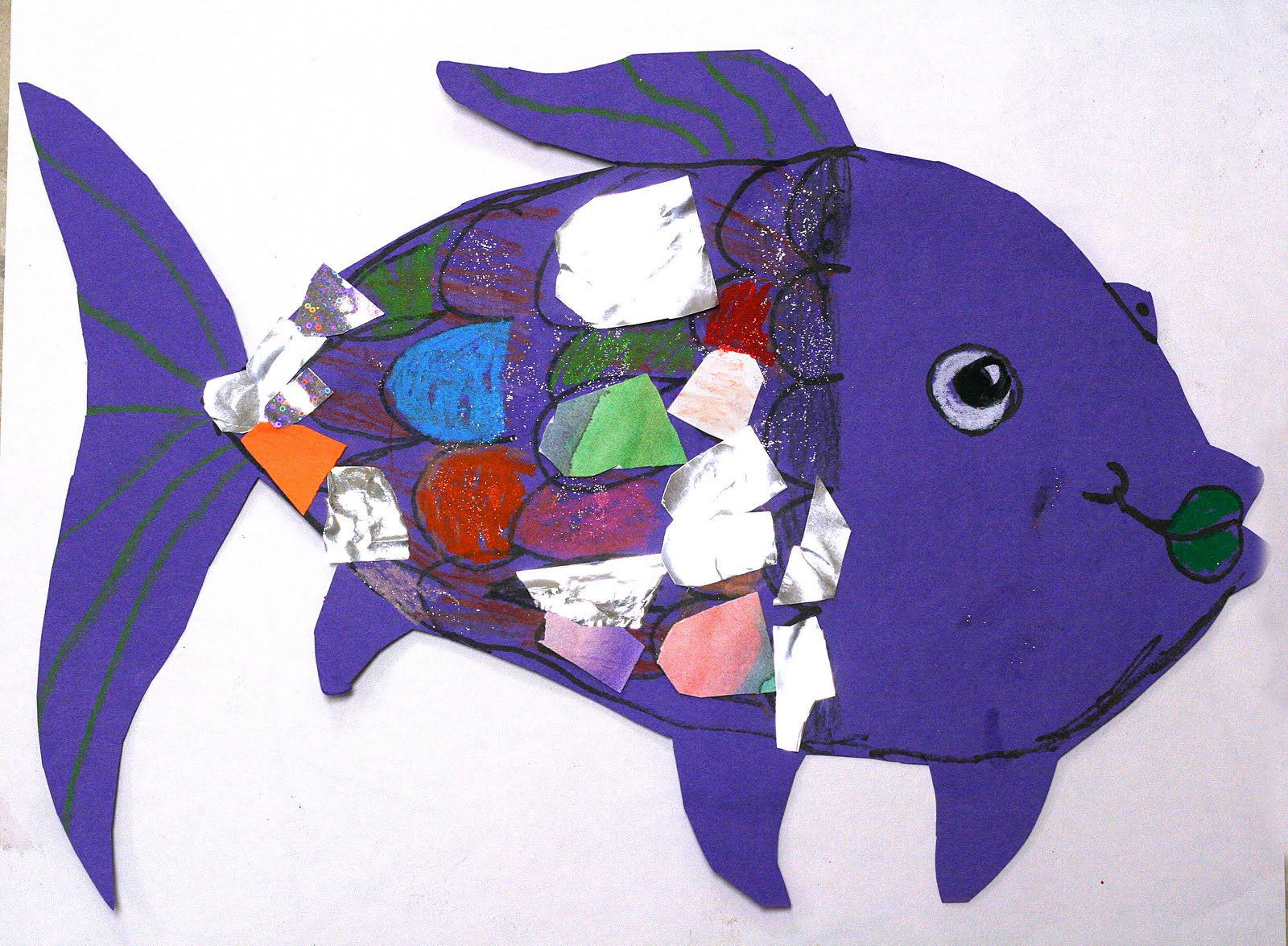 Smart class rainbow fish lesson and tricking kids into for The rainbow fish