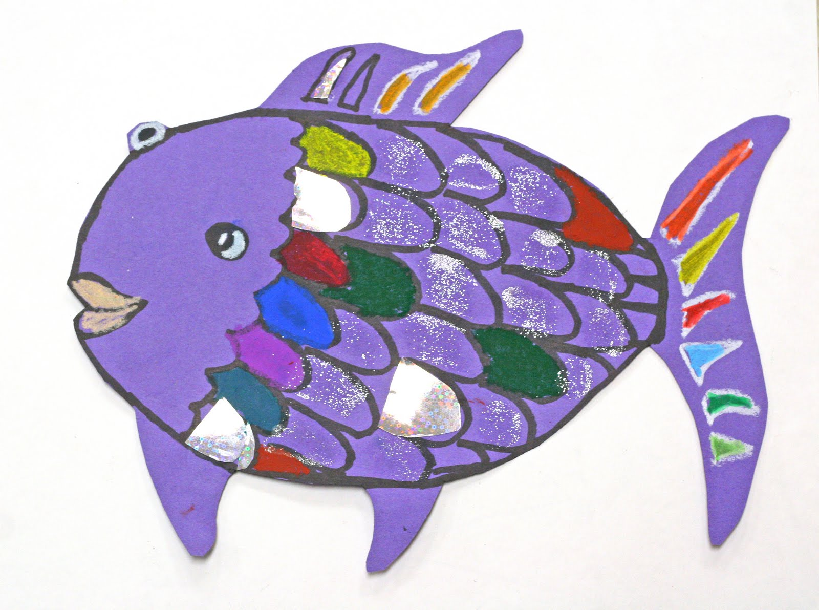 Rainbow fish activities for Fish for toddlers