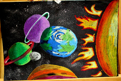 Smart class outer space for Outer space project