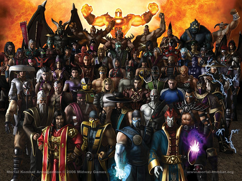 Mortal Kombat Wallpaper mortal kombat armageddon mortal kombat wallpaper