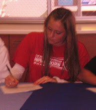 Holly signing NLI