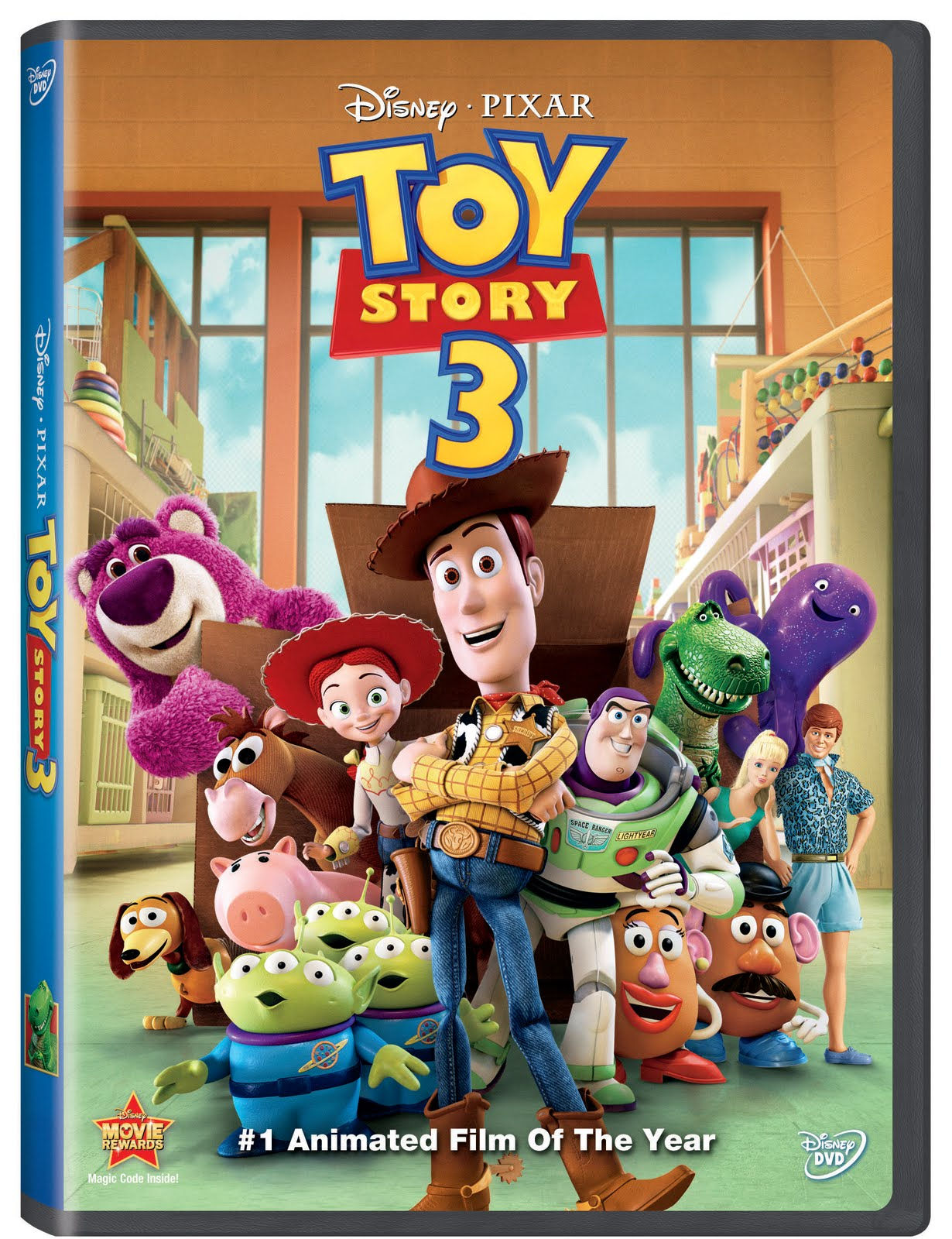 Toy Story 3 : My power is beyond your understanding toy story on dvd