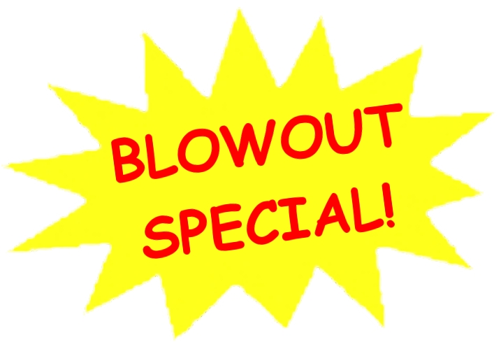 Thomas Auto Sales Blowout Internet Special