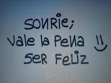 Una sola sonrisa :)