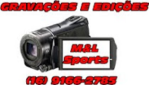 Apoio: M&L Sports Gravações e Edições Esportivas