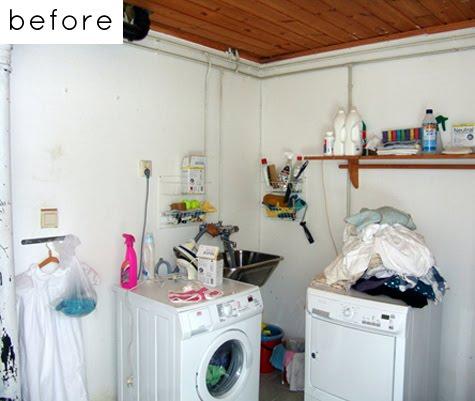 Y UN POCO DE DISEÑO: el centro de lavado